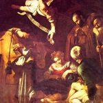 53-caravaggio-la-nativita-con-i-santi-francesco-e-lorenzo