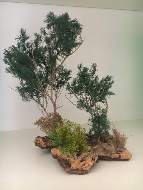 vegetazione per presepio (composizione 1)