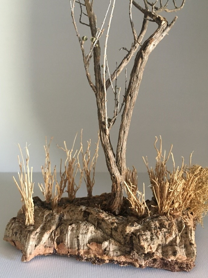 vegetazione per presepio (composizione 3)
